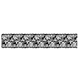 Stamperia HD Natural Rubber Stamp cm. 4x18 Flowers