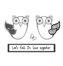Stamperia HD Natural Rubber Stamp cm. 7x11 Good Luck