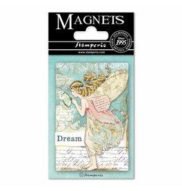 Stamperia Magnet cm. 8x5,5 - Wonderland Fairy