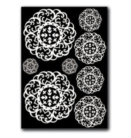 Stamperia Decotransfer -  A5size - Doilies