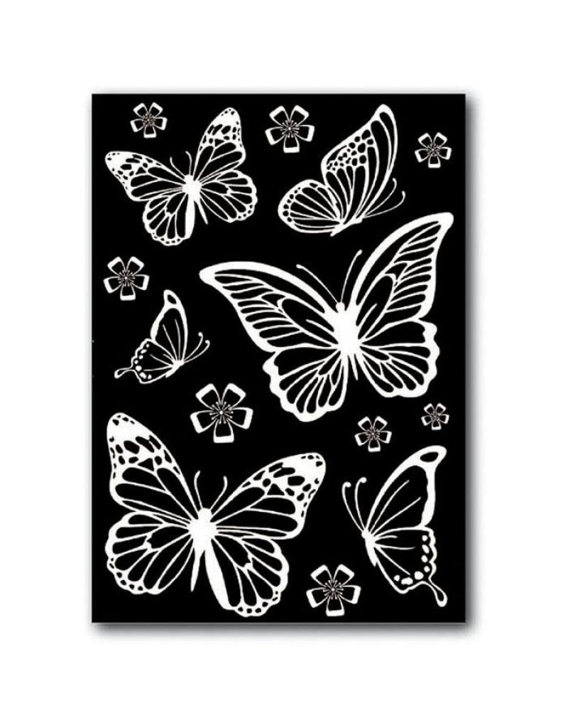 Stamperia Decotransfer -  A5size - Butterflies