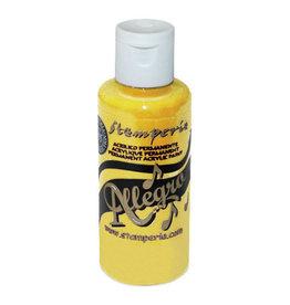 Stamperia Allegro paint 59 ml.yellow
