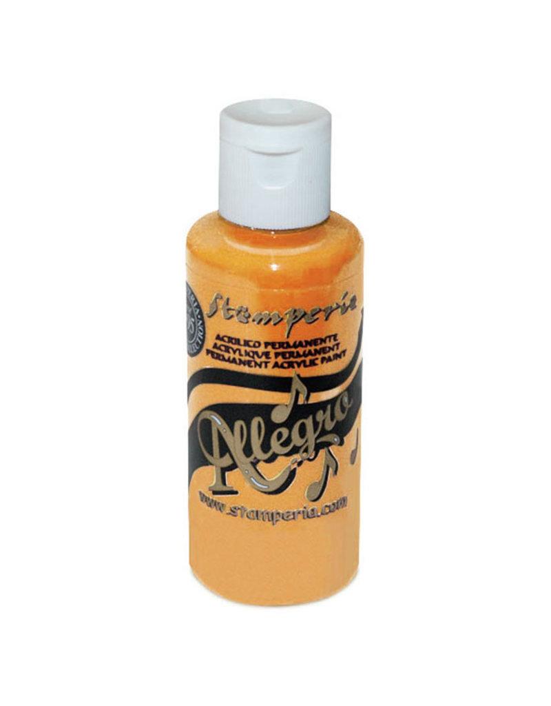 Stamperia Allegro paint 59 ml.warm yellow