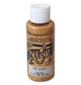 Stamperia Allegro paint 59 ml.super gold
