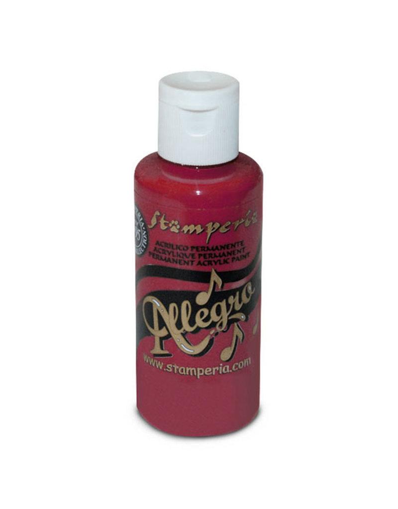 Stamperia Allegro paint 59 ml.red purple
