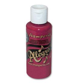Stamperia Allegro paint 59 ml.raspberry