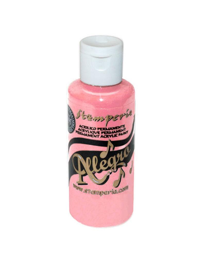 Stamperia Allegro paint 59 ml.pink