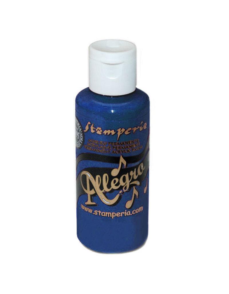 Stamperia Allegro paint 59 ml.navy blue