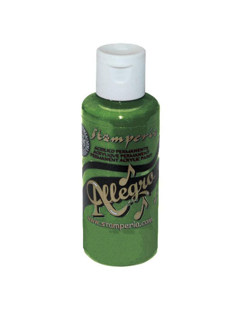 Stamperia Allegro paint 59 ml.leaf green