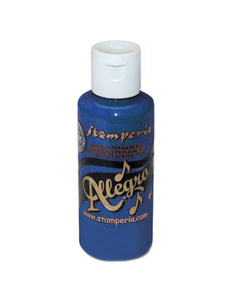 Stamperia Allegro paint 59 ml.blue