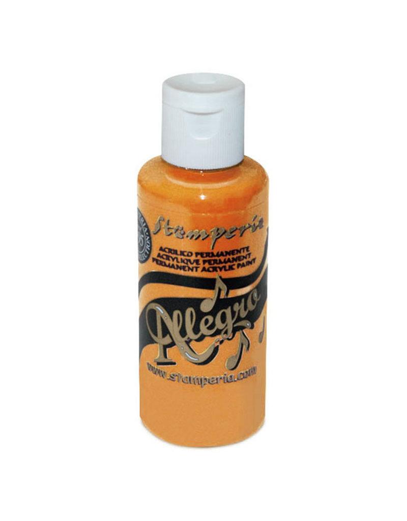 Stamperia Allegro paint 59 ml. Orange