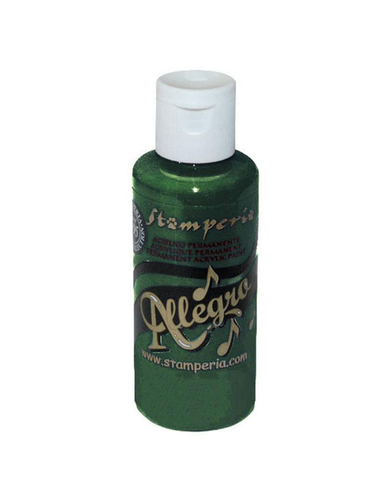 Stamperia Allegro paint 59 ml petrol green