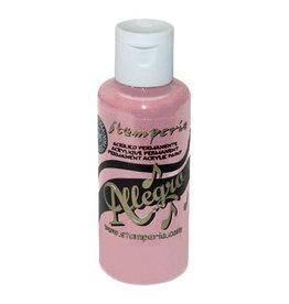 Stamperia Allegro paint 59 ml old pink