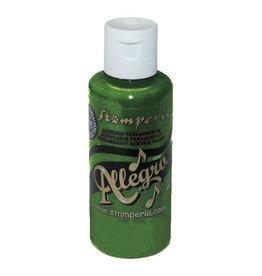 Stamperia Allegro paint 59 ml dark green