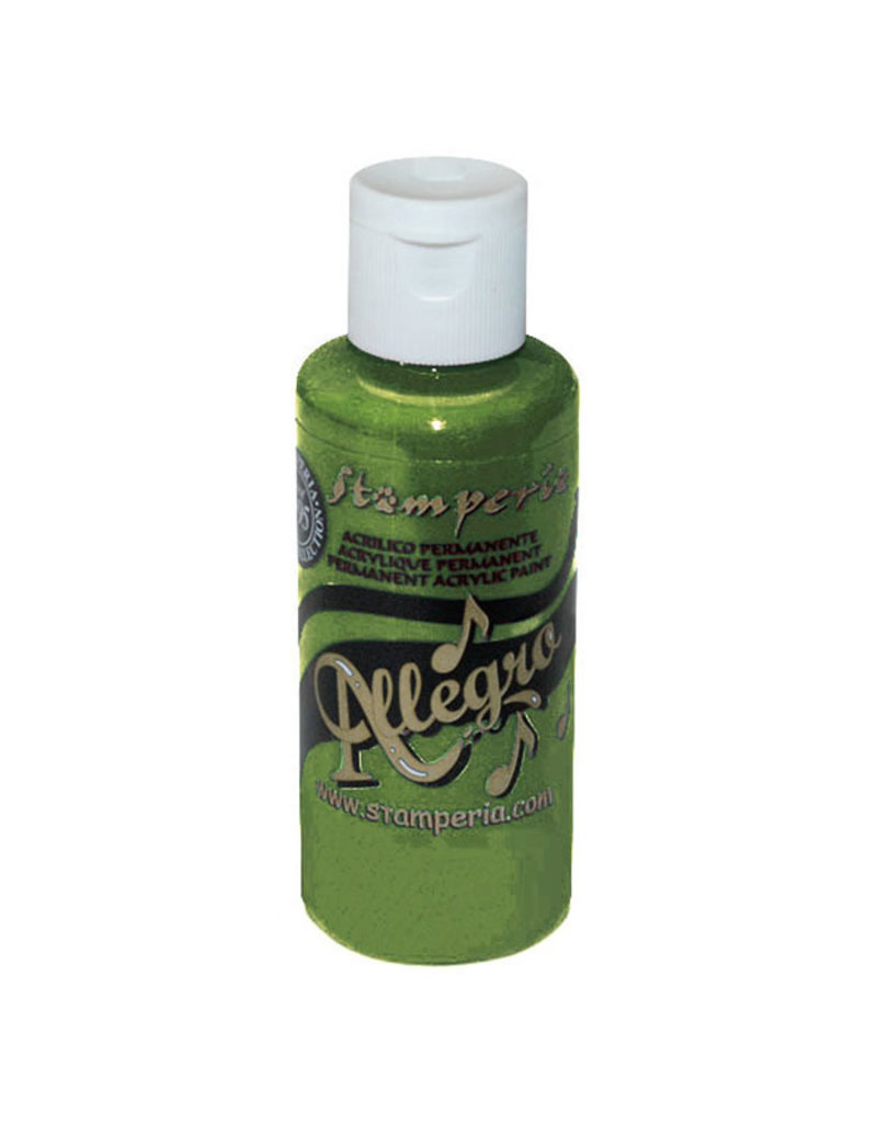 Stamperia Allegro paint 59 ml avocado