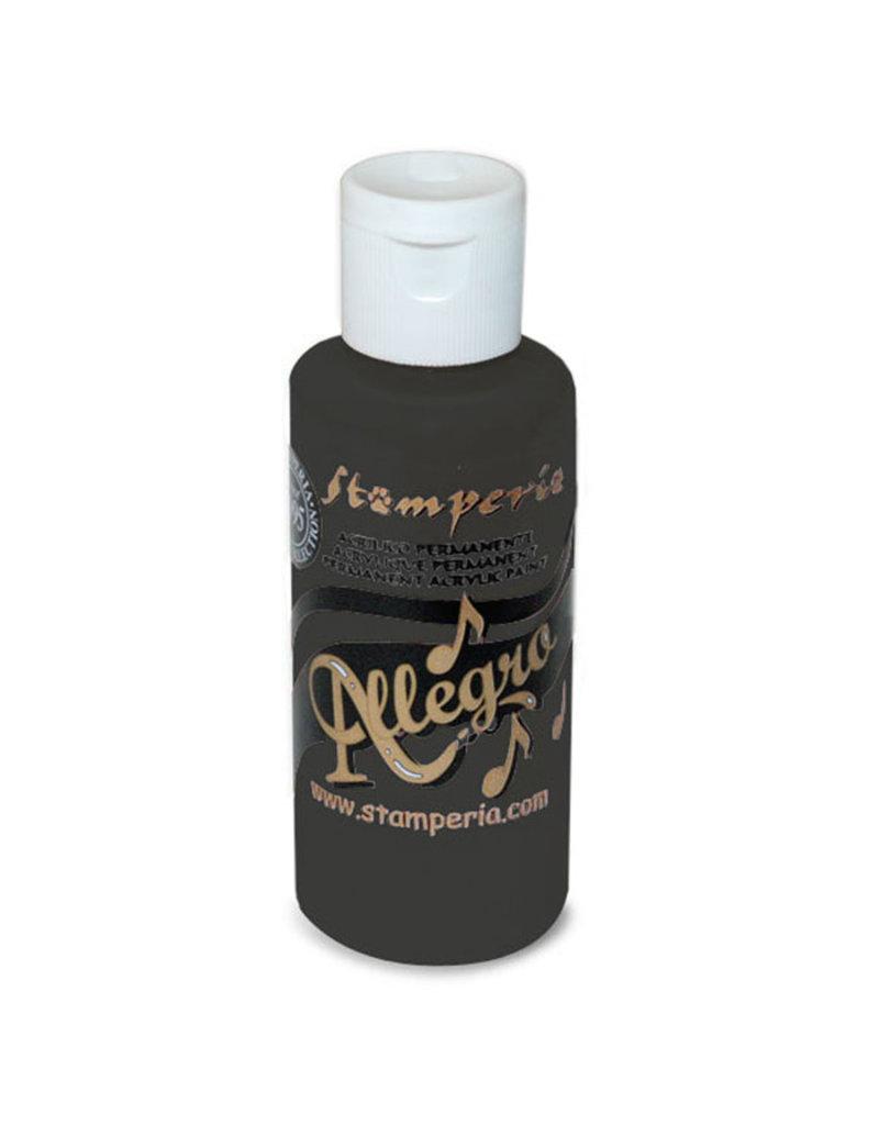 Stamperia Allegro paint 59 ml anthracite
