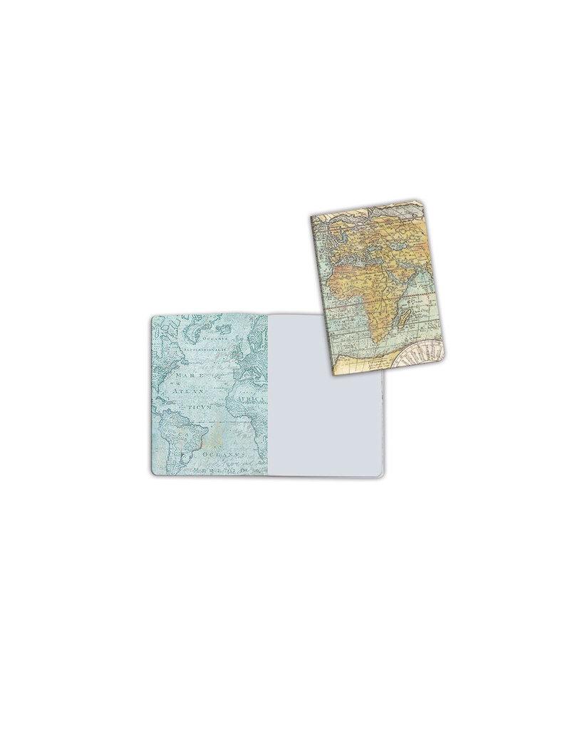 Stamperia A6 Notebook - World