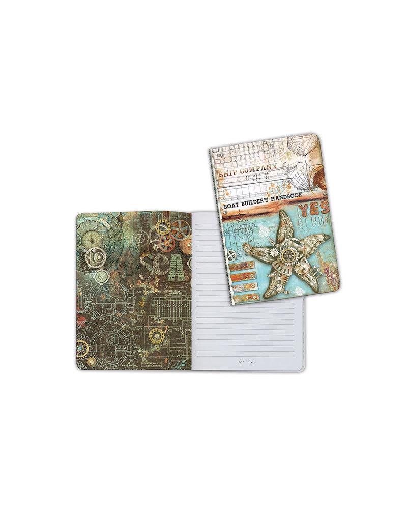 Stamperia A6 Notebook - Sea star