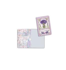 Stamperia A6 Notebook - Lavender bouquet