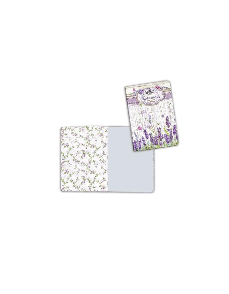 Stamperia A6 Notebook - Lavender