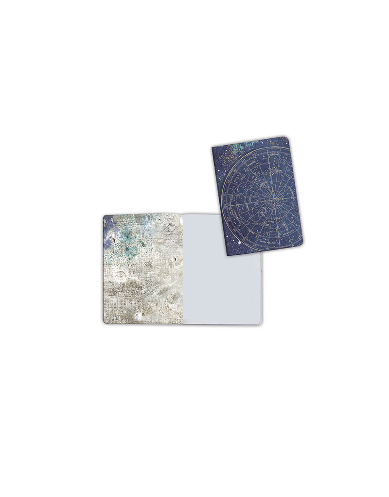 Stamperia A6 Notebook - Astronomy