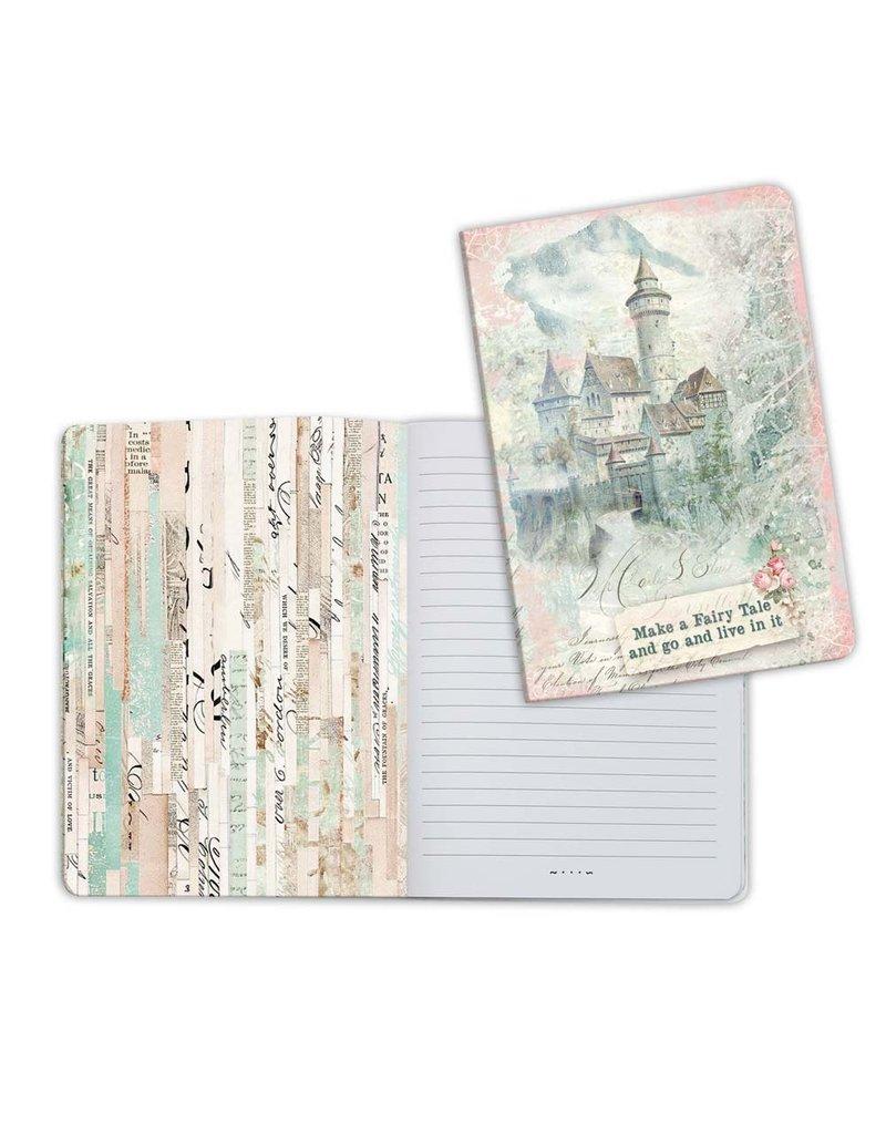 Stamperia A5 Notebook - Wonderland Fantasy Castle