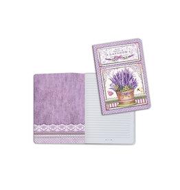 Stamperia A5 Notebook - Vase of Lavender