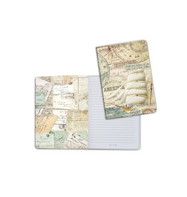 Stamperia A5 Notebook - Tall Ship