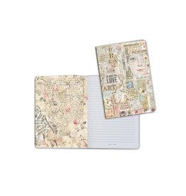 Stamperia A5 Notebook - Love Art