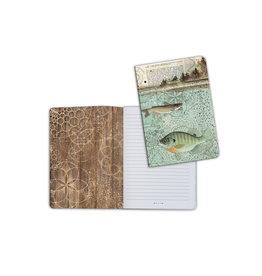 Stamperia A5 Notebook - Fish