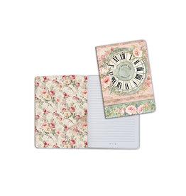 Stamperia A5 Notebook - Clock