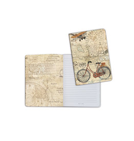 Stamperia A5 Notebook - Bicycle