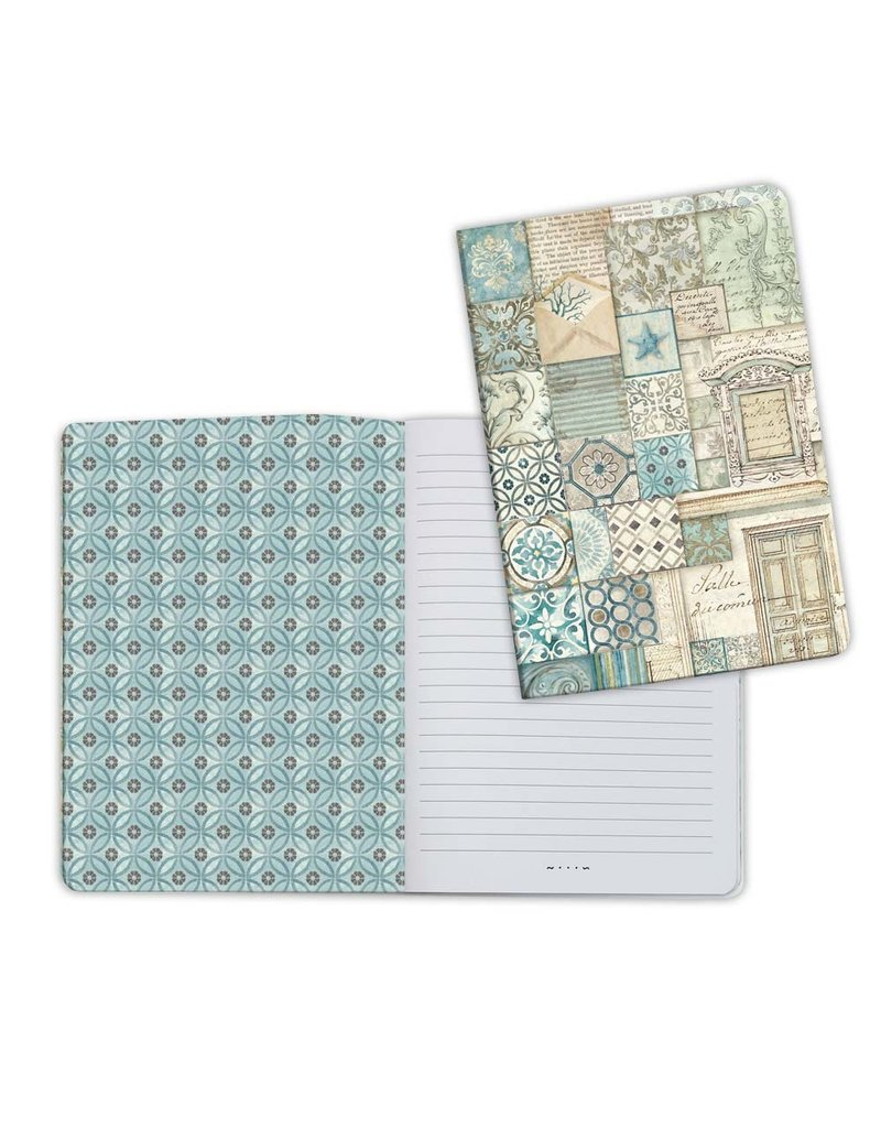Stamperia A5 Notebook - Azulejos Patchwork 2