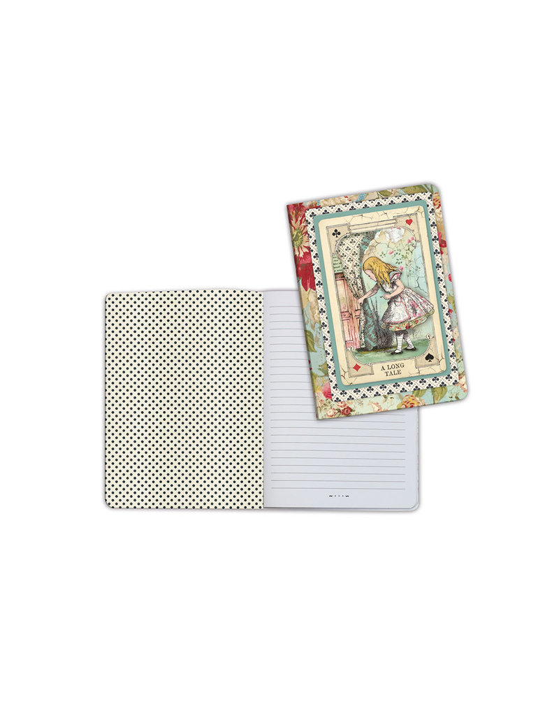 Stamperia A5 Notebook - Alice curious