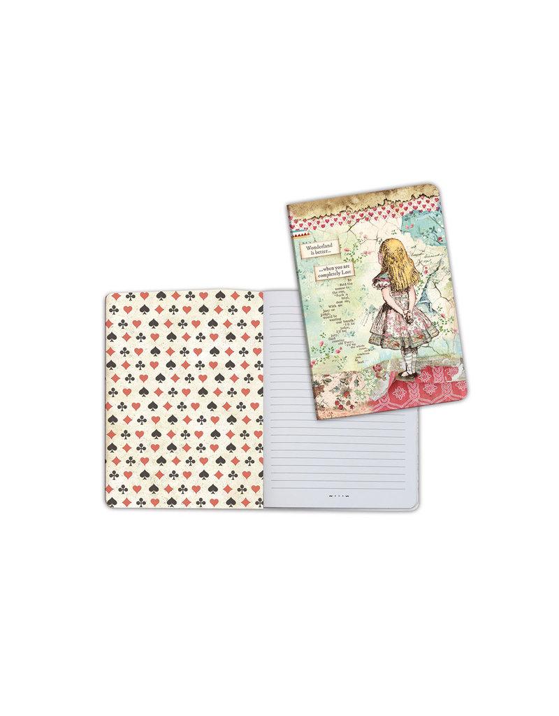 Stamperia A5 Notebook - Alice