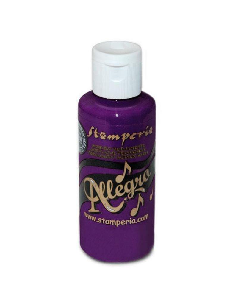 Stamperia 077 Allegro paint 59 ml dark violet