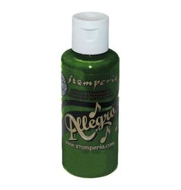 Stamperia 054 Allegro paint 59 ml.hedge green