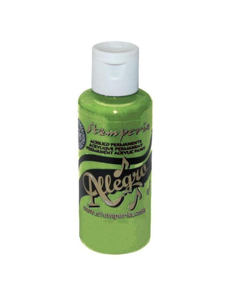 Stamperia 046 Allegro paint 59 ml green