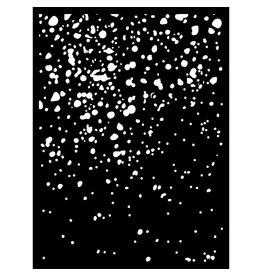 Stamperia Thick Stencil cm. 15X20 Sea World Rust