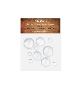 Stamperia Big bubbles (2 pcs mis 2,5 cm + 3 pcs mis 2 + 5 pcs mis 1) 10 pcs