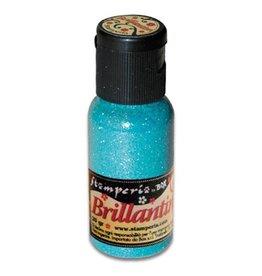 Stamperia 027 Glitter 20 gr. sea blue