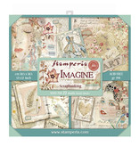 """Stamperia Block 22 sheets 30.5x30.5 (12""""x12"""") Double Face Imagine"""