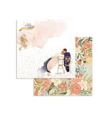 """Stamperia Block 10 Sheets 20.3X20.3  (8""""X8"""") Double Face Love Story"""