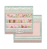 """Stamperia Block 10 Sheets 20.3X20.3  (8""""X8"""") Double Face Sweety"""