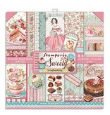 """Stamperia Block 10 sheets 30.5x30.5 (12""""x12"""") Double Face Sweety"""