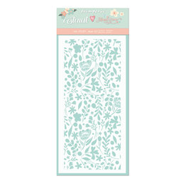 Stamperia Thick stencil cm. 12X25 Small flowers