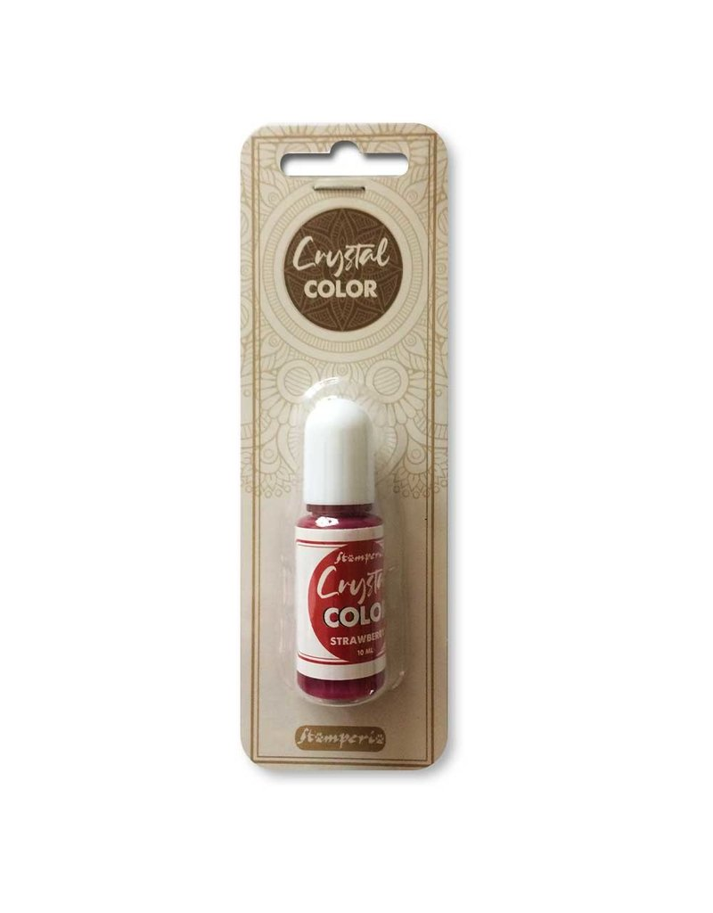 Stamperia Crystal color 10 ml. Strawberry