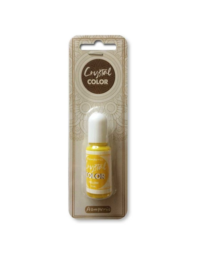 Stamperia Crystal color 10 ml. Yellow