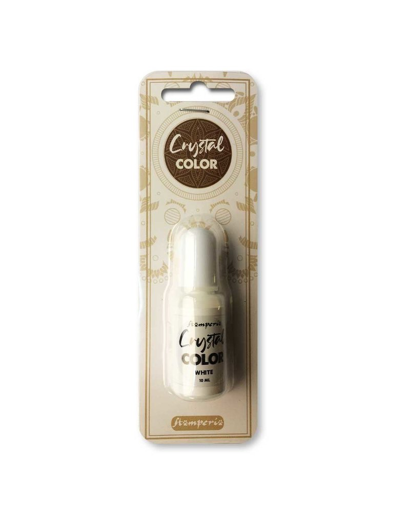 Stamperia Crystal color 10 ml. White