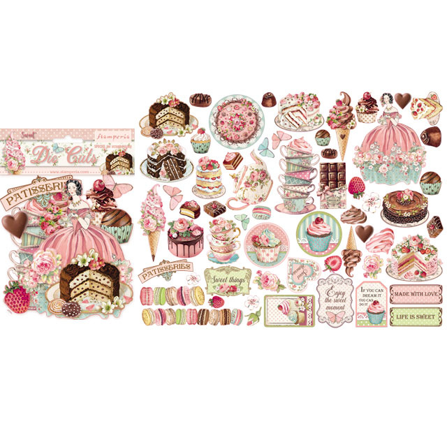 Stamperia Die cuts assorted - Sweety